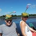 Bootsfahrt, Sri Lanka Entdecken, Blumenschmuck